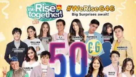 We Rise Together LIVE 50th Episode celebration Image Thumbnail