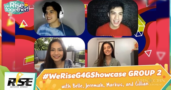 We Rise Together: 'Say It or Eat It' with Belle Mariano, Jeremiah Lisbo, Markus Paterson, and Gillian Vicencio