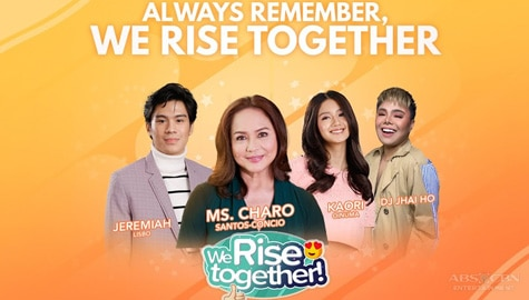 We Rise Together LIVE with Charo Santos-Concio Image Thumbnail