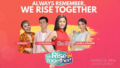 We Rise Together LIVE with Kim Chiu Thumbnail