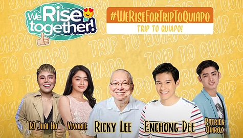 We Rise Together LIVE with Enchong Dee and Ricky Lee Image Thumbnail