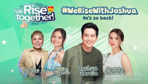 We Rise Together with Joshua Garcia