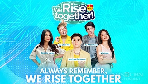 We Rise Together with Markus Paterson, JC Alcantara, Vivoree Esclito, Gigi De Lana and DJ Jhai Ho Image Thumbnail