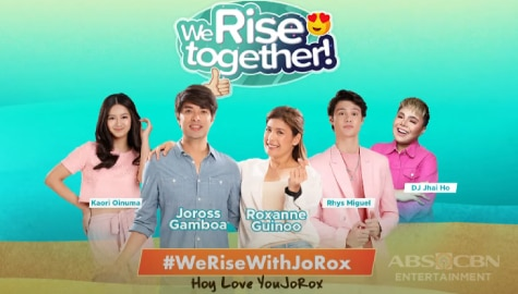 We Rise Together with Joross Gamboa and Roxanne Guinoo Image Thumbnail