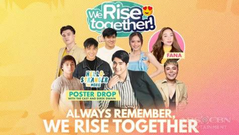 We Rise Together with JC, Markus, Gillian, Migs, Jin, Jae and DJ Jhai Ho Image Thumbnail