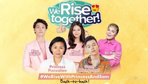 We Rise Together with Princess Punzalan and Sam Mangubat Image Thumbnail