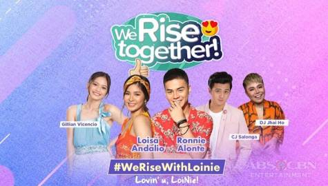 We Rise Together with Loisa Andalio and Ronnie Alonte Image Thumbnail