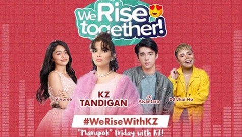 We Rise Together with KZ Tandingan Image Thumbnail