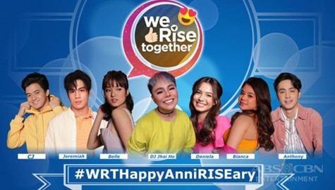 We Rise Together with Belle, Jeremiah, Daniela, Anthony, Bianca, CJ, and DJ Jhai Ho Image Thumbnail
