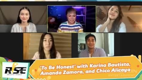 We Rise Together: 'To Be Honest' with Karina Bautista, Amanda Zamora, and Chico Alicaya Image Thumbnail