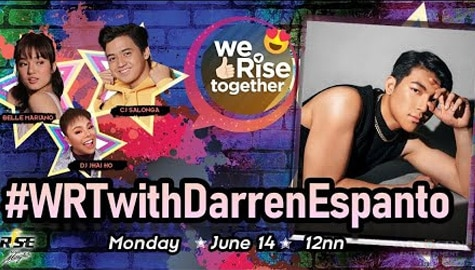 We Rise Together with Darren Espanto Image Thumbnail