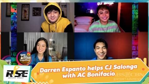 We Rise Together: Darren Espanto helps CJ Salonga with AC Bonifacio Image Thumbnail