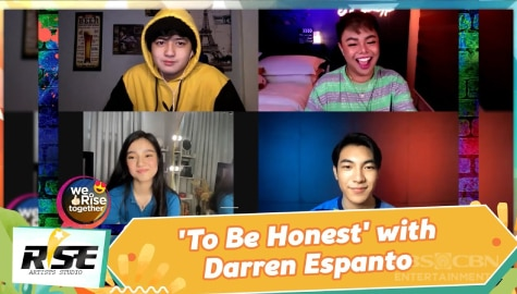 We Rise Together: 'To Be Honest' with Darren Espanto Image Thumbnail