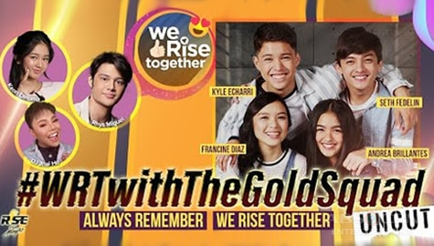 We Rise Together with The Gold Squad Image Thumbnail
