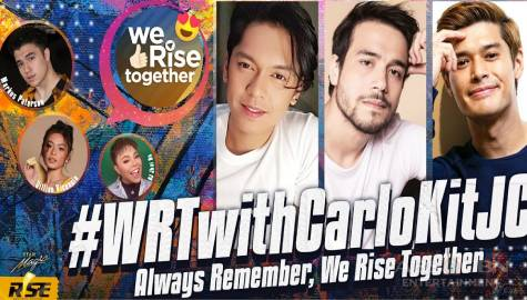 We Rise Together with Carlo Aquino, Kit Thompson and JC De Vera Image Thumbnail