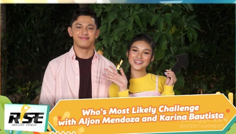 We Rise Together: Who's Most Likely Challenge with Aljon Mendoza and Karina Bautista Image Thumbnail