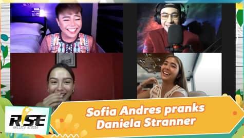 We Rise Together: Sofia Andres pranks Daniela Stranner Image Thumbnail