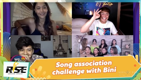 We Rise Together: Song association challenge with BINI Image Thumbnail