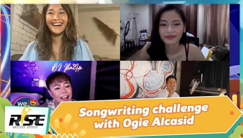 We Rise Together: Songwriting challenge with Ogie Alcasid Image Thumbnail