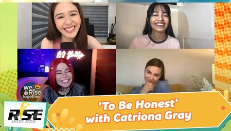 We Rise Together: 'To Be Honest' with Catriona Gray Image Thumbnail
