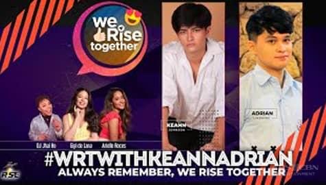 We Rise Together with Kean Johnson & Adrian Lindayag Image Thumbnail