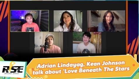 We Rise Together: Adrian Lindayag, Kean Johnson talk about 'Love Beneath The Stars' Image Thumbnail