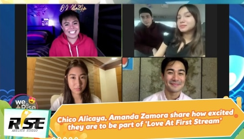 We Rise Together: Chico Alicaya, Amanda Zamora share how excited they are to be part of 'Love At First Stream' Image Thumbnail