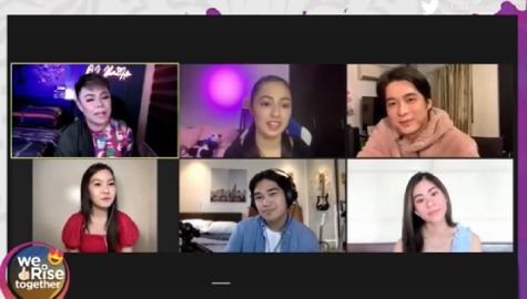 We Rise Together: Sab, Sela, and Recio show talent in singing and acting Image Thumbnail