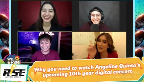 We Rise Together: Why you need to watch Angeline Quinto's upcoming 10th year digital concert Thumbnail