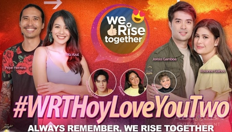 We Rise Together with Joross, Roxanne, Ritz & Pepe Thumbnail
