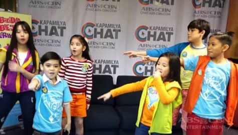 WATCH: Halina't sabayan ang Team Yey Kids sa pagsayaw ng kanilang theme song sa Kapamilya Chat Image Thumbnail