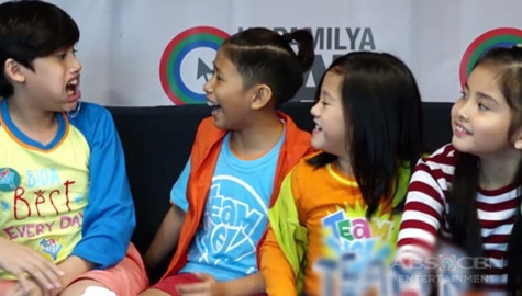 WATCH: Team Yey Kids take on Kapamilya Chat Challenges Image Thumbnail