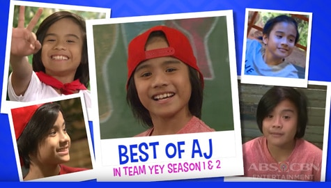 Best of AJ in Team YeY Seasons 1 and 2 | Bida Best List Thumbnail