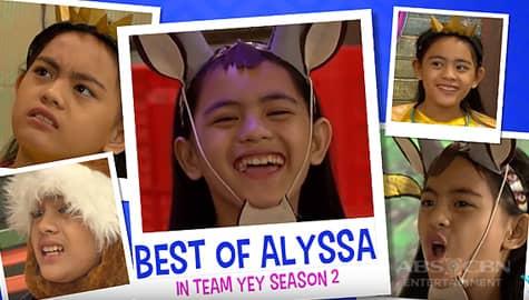 Best of Alyssa in Team YeY Season 2 | Bida Best List Thumbnail
