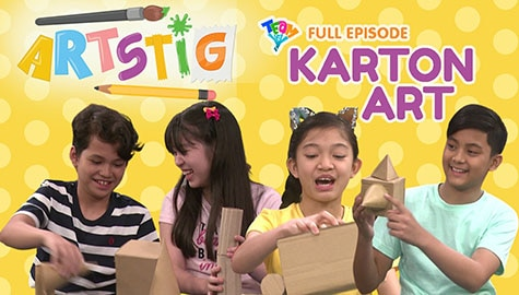 Artstig: Karton Art Full Episode | Team YeY Season 5 Thumbnail