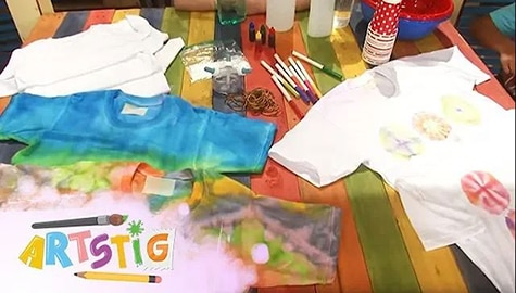 Artstig: Self-portrait and Tie Dye Shirts | Team Yey Season 1 Thumbnail