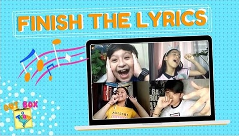 Finish The Lyrics | Out Of The Box by Team YeY Image Thumbnail