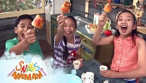 Snaks Naman: Frozen Fruit Pops Full Episode | Team Yey Season 1 Image Thumbnail