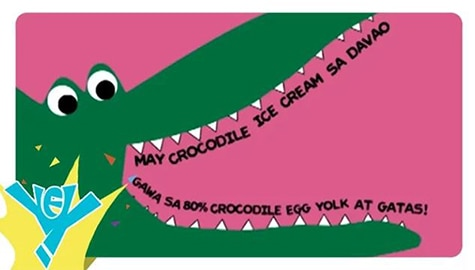 Crocodile Ice Cream | Kaalaman Express (KXP) Image Thumbnail