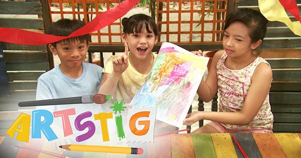 Artstig: Party Crafts Full Episode | Team YeY Season 1 Image Thumbnail