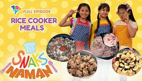 Snaks Naman: Rice Cooker Meals Full Episode | Team YeY Season 5 Image Thumbnail