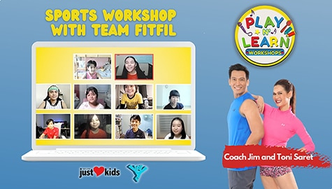 Sports Workshop by Team FitFil | Play N' Learn Workshops Image Thumbnail