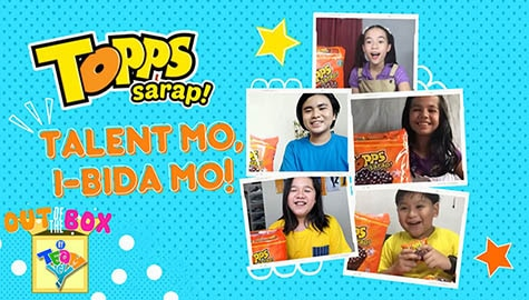 Topps Sarap Talent Showcase | Out of the Box by Team YeY #Funbahay Edition Image Thumbnail