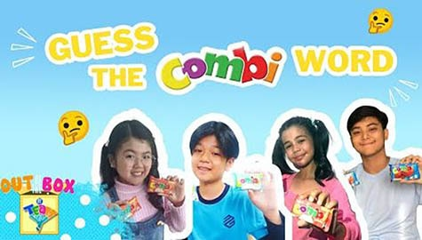Guess the Combi word! | Out of the Box by Team YeY #FunBahay Edition Image Thumbnail