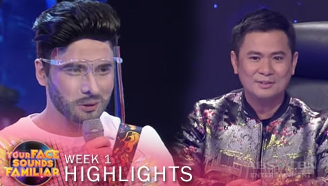 WEEK 1: Jury, humanga sa performance ni Christian as Adam Levine | YFSF 2021 Image Thumbnail
