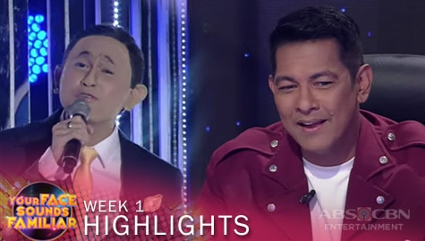 WEEK 1: Jury, pinuri ang performance ni CJ as Jose Mari Chan  | YFSF 2021 Image Thumbnail
