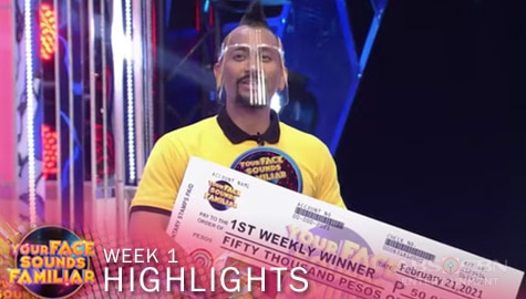 WEEK 1 Winner: Jhong Hilario as APL De AP