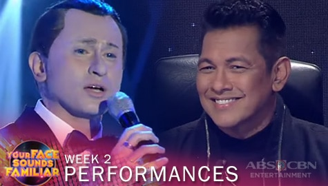 WEEK 2: CJ Navato impresses Jury with his captivating performance as Frank Sinatra | YFSF 2021