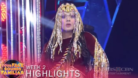 WEEK 2: Christian, sumali sa beauty contest as Cher | YFSF 2021 Image Thumbnail