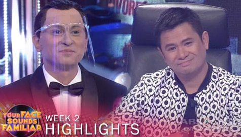 WEEK 2: Jury, bumilib sa performance ni CJ as Frank Sinatra | YFSF 2021 Image Thumbnail